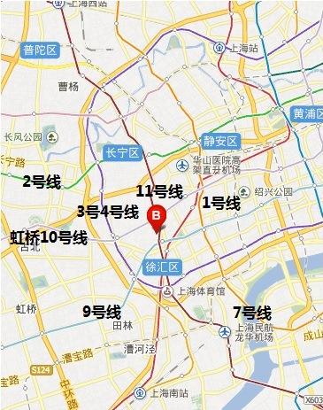 会场交通(上海交通大学浩然高科技大厦)
